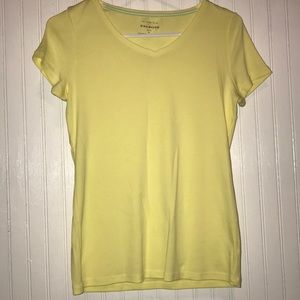 Yellow Talbots tee shirt